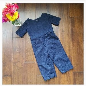 NWT Janie and Jack Scalloped Jumpsuit (2T)